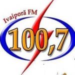Logo da emissora Rádio Ivaiporã 100.7 FM