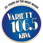 Logo da emissora Radio KBVA 106.5 FM