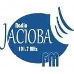 Logo da emissora Rádio Jaciobá 101.7 FM