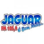 Logo da emissora Rádio Jaguar 105.9 FM