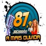 Logo da emissora Rádio Jaguarão 87.9 FM
