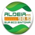 Logo da emissora Rádio Aldeia 98.5 FM