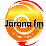 Logo da emissora Rádio Jarana 101.1 FM