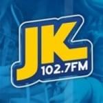 Logo da emissora Rádio JK 102.7 FM