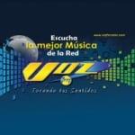 Logo da emissora Voz FM Rádio