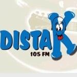 Logo da emissora Rádio Distak 104.9 FM