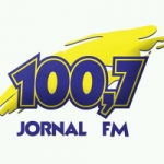 Logo da emissora Rádio Jornal 100.7 FM