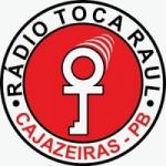 Logo da emissora Rádio Toca Raul Cajazeiras