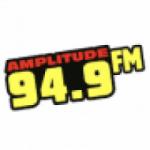 Logo da emissora Rádio Amplitude 94.9 FM