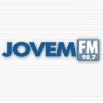 Logo da emissora Rádio Jovem 98.7 FM