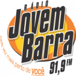 Logo da emissora Rádio Jovem Barra 91.9 FM