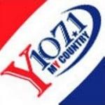 Logo da emissora Radio KCNY 107.1 FM