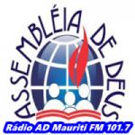 Logo da emissora Rádio AD Mauriti FM