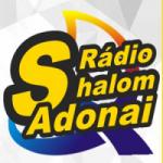 Logo da emissora Rádio Shalom  Adonai FM