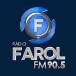 Logo da emissora Rádio Farol 90.5 FM
