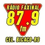 Logo da emissora Rádio Faxinal 87.9 FM