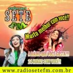 Logo da emissora Rádio Sete FM