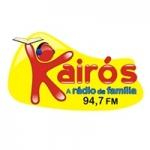 Logo da emissora Rádio Kairós 94.7 FM