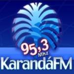 Logo da emissora Rádio Karandá 95.3 FM