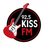 Logo da emissora Rádio Kiss 92.5 FM