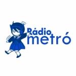Logo da emissora Rádio Metró
