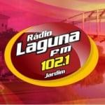 Logo da emissora Rádio Laguna 102.1 FM