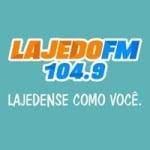 Logo da emissora Rádio Lajedo 104.9 FM