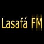 Logo da emissora Rádio Lasafá 87.9 FM