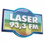 Logo da emissora Rádio Laser 93.3 FM
