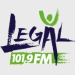 Logo da emissora Rádio Legal 101.9 FM