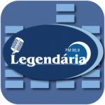 Logo da emissora Rádio Legendária 95.9 FM