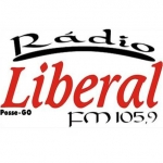 Logo da emissora Rádio Liberal 105.9 FM