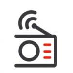 Logo da emissora Rádio Machado De Liz