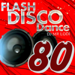 Logo da emissora Flash Disco Dance 80