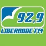 Logo da emissora Rádio Liberdade 92.9 FM