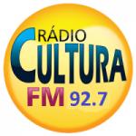 Logo da emissora Rádio Cultura 92.7 FM