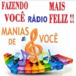 Logo da emissora Rádio Manias de Você