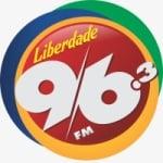 Logo da emissora Rádio Liberdade 96.3 FM