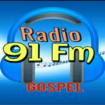 Logo da emissora Rádio FM 91 Gospel