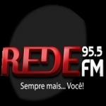Logo da emissora Rádio Rede 95.5 FM