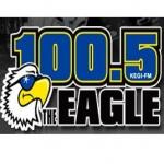Logo da emissora KEGI 100.5 FM Eagle