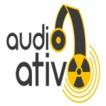 Logo da emissora Rádio Áudio Ativo