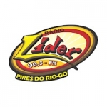 Logo da emissora Rádio Líder 90.3 FM