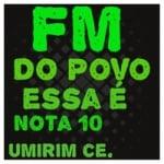Logo da emissora FM do Povo