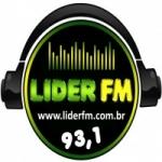 Logo da emissora Rádio Líder 93.1 FM