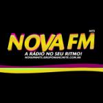 Logo da emissora Rede Nova FM Hits