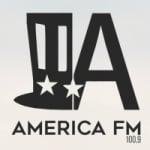 Logo da emissora Rádio América 100.9 FM