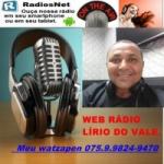 Logo da emissora Web Rádio Lírio do Vale
