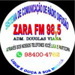 Logo da emissora Rádio Zara FM