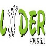 Logo da emissora Rádio Líder 95.1 FM